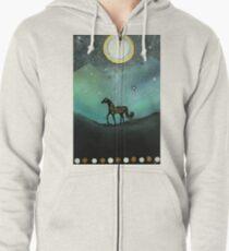 Unicorn Believe In Magic Zipped Hoodie