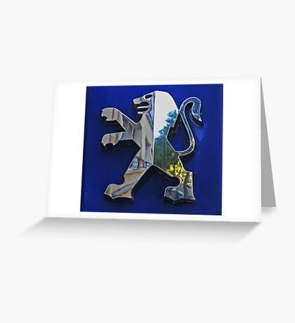 PEUGEOT Greeting Card