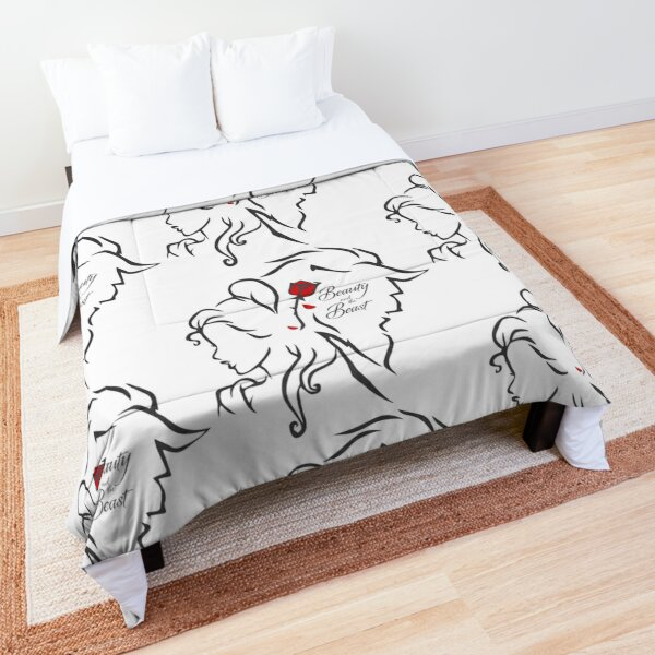 Beauty And The Beast Comforter By Kathrynne Redbubble