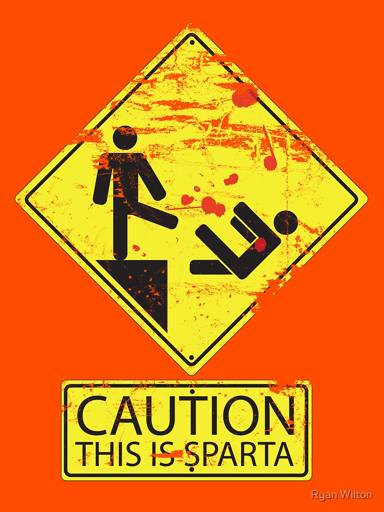 Caution! This is Sparta! by channandeller