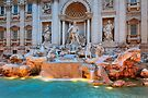 Fontana di Trevi by Inge Johnsson