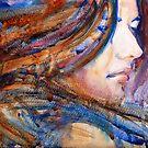 A Portrait A Day 6 - Angela by Yevgenia Watts