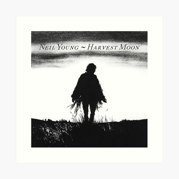 Neil Young - Harvest Moon Art Print