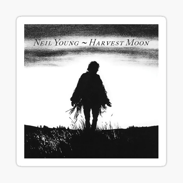 Neil Young - Harvest Moon Sticker