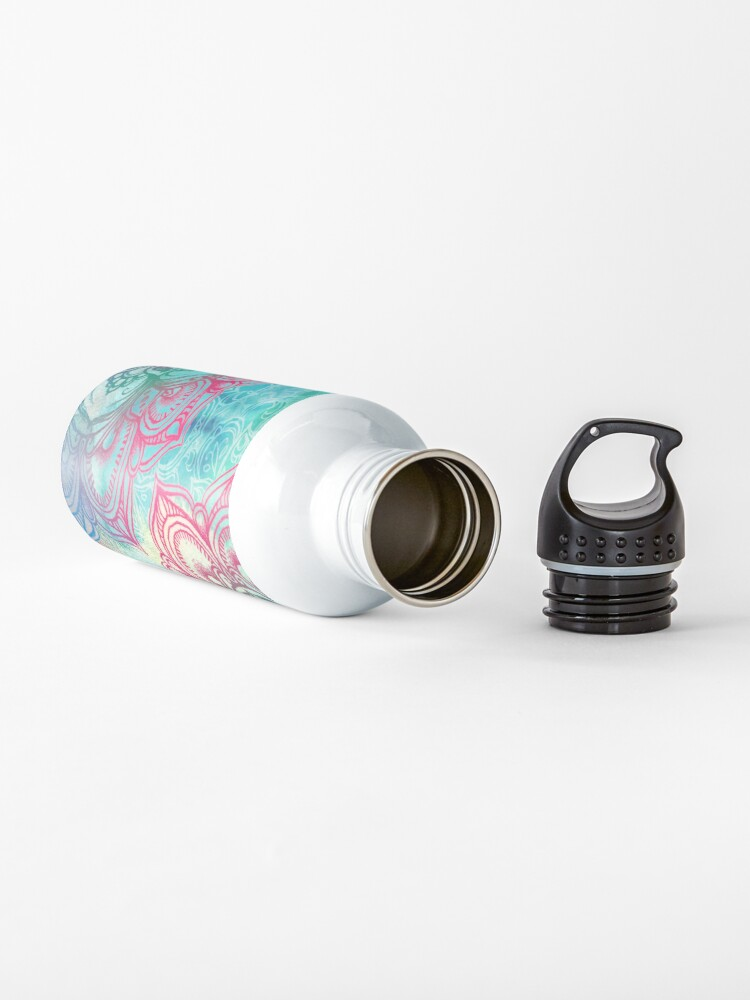 Alternate view of Round and Round the Rainbow Water Bottle
