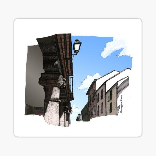 Calle Mayor de Alcalá Pegatina