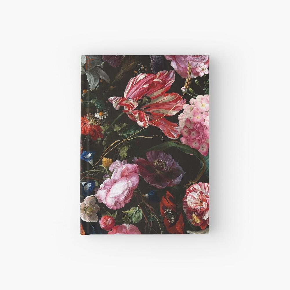 Dutch Midnight Garden Hardcover Journal
