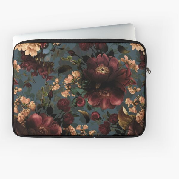 Moody florals - Mystic Night 10 Laptop Sleeve