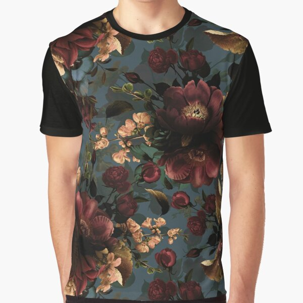 Moody florals - Mystic Night 10 Graphic T-Shirt