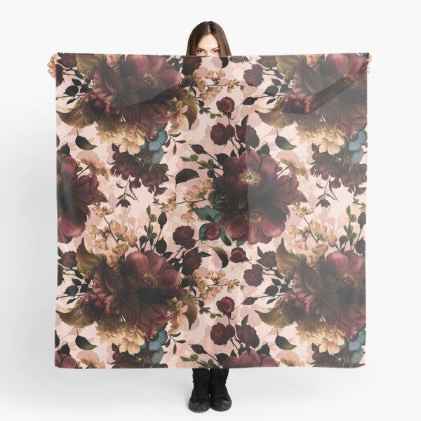 Moody florals - Mystic Night 11 Scarf
