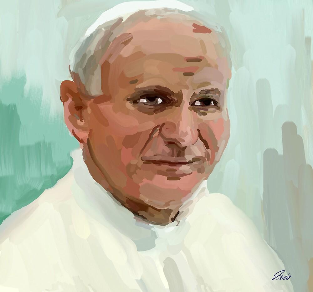 pope john paul by irisgrover