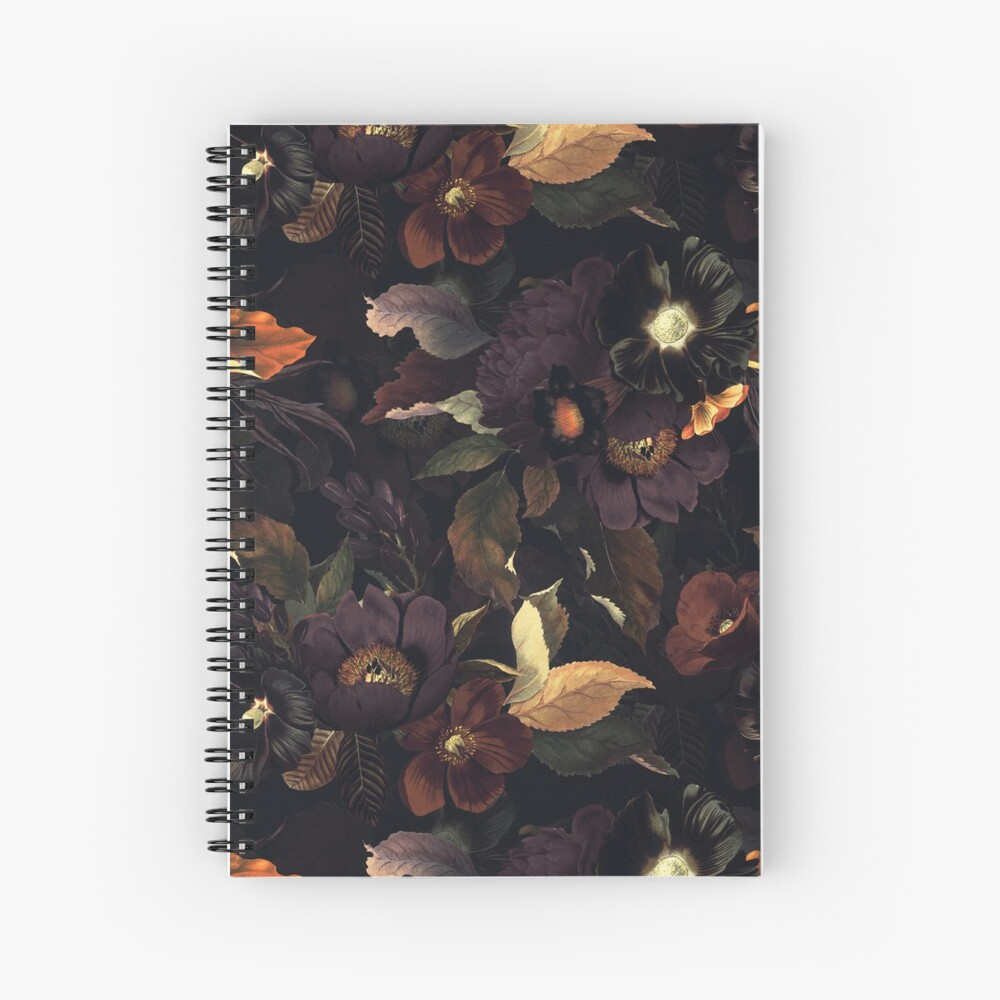 Mystical night Spiral Notebook