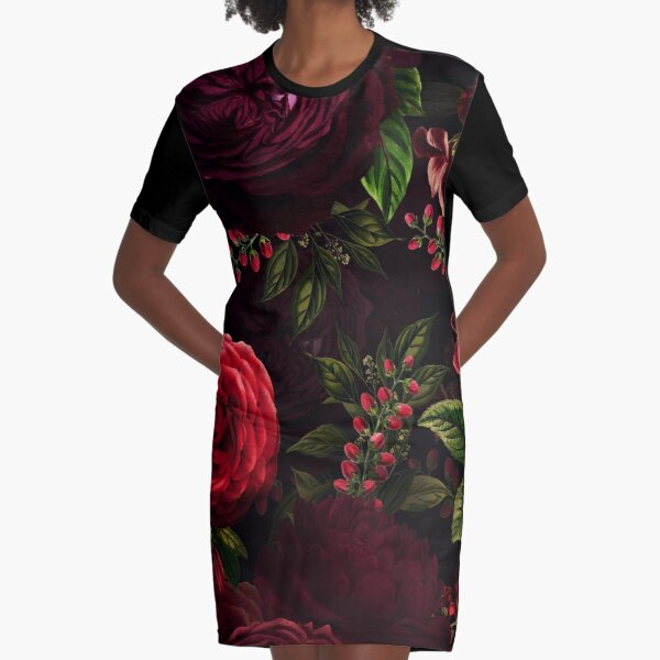 Mystical night VI Graphic T-Shirt Dress