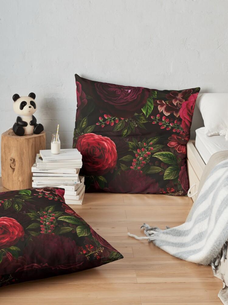 Alternate view of Mystical night VI Floor Pillow