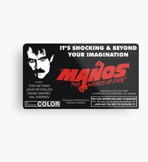 Manos: The Hands of Fate Metal Print