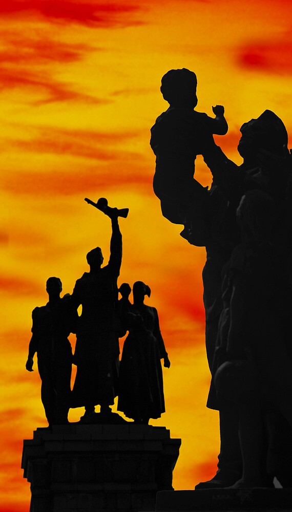Monument to the Russian Army by John Rocha