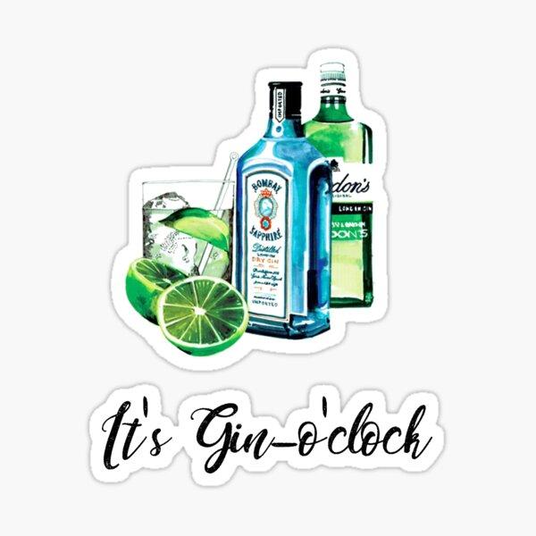 Gin O Clock Sticker