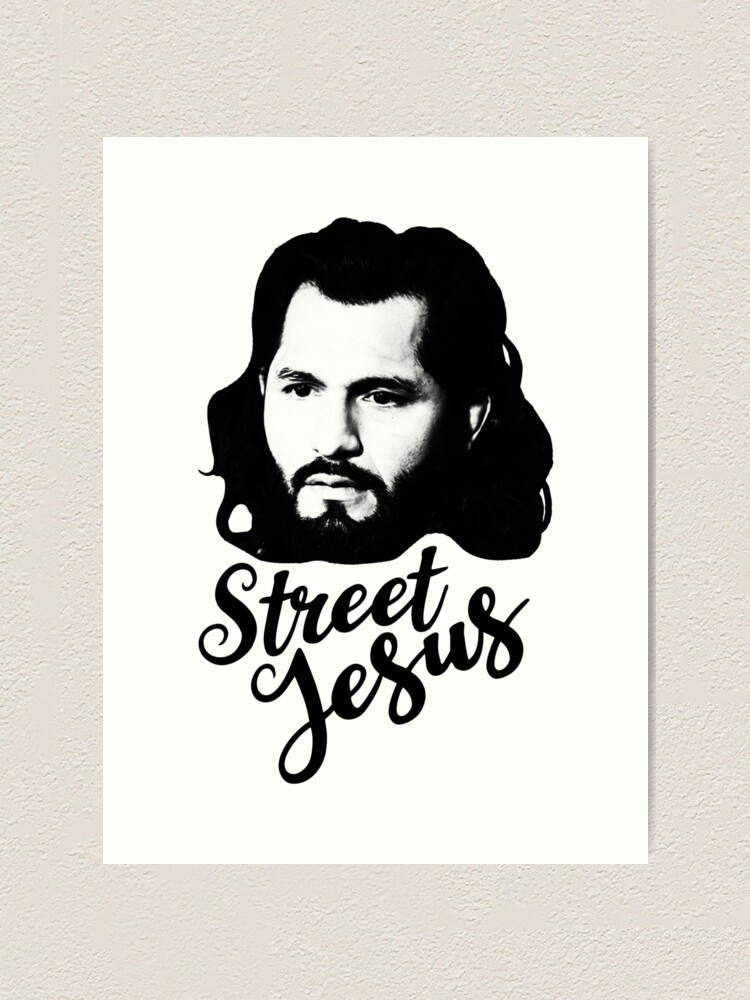 Jesus Street Art iphone case