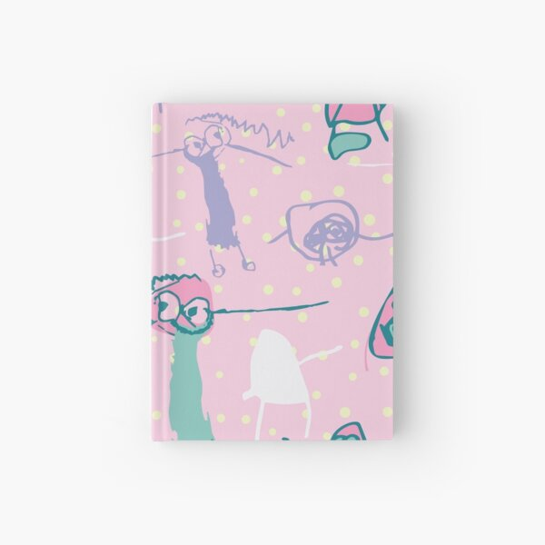 Naomi - Floral - Confetti - Repeat Pattern Hardcover Journal