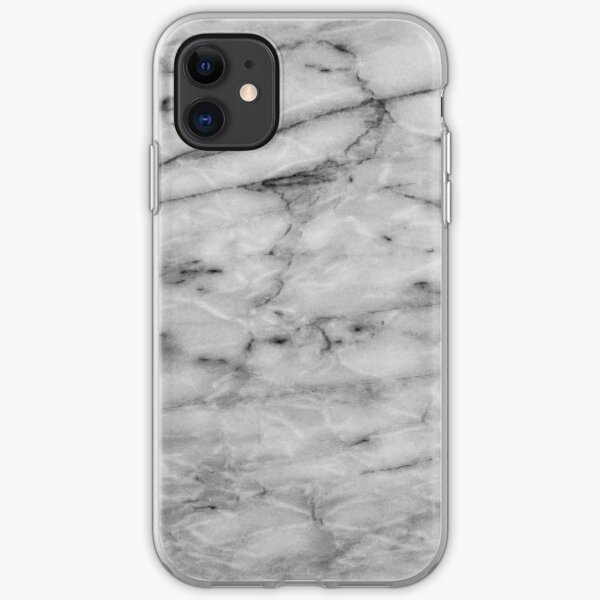 Grey Abstract Texture iPhone Soft Case