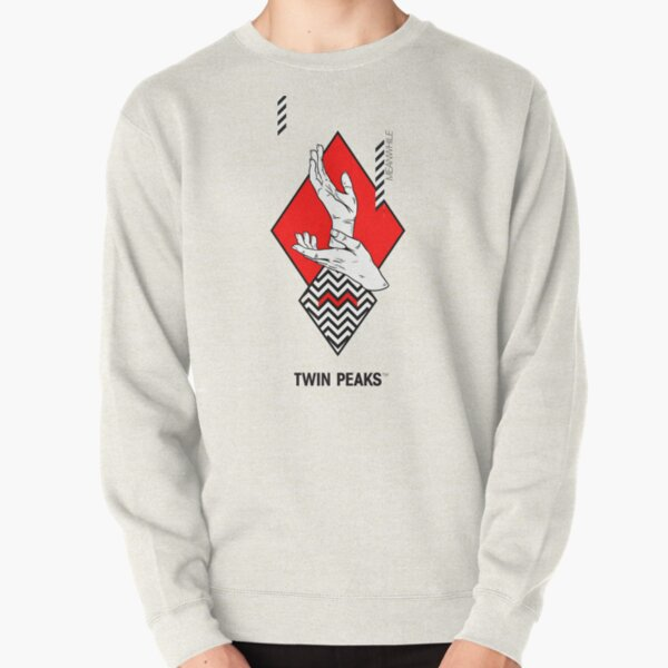 meanwhile. twin peaks. Pullover Sweatshirt