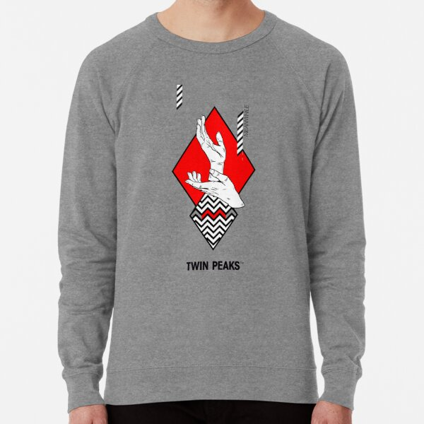 meanwhile. twin peaks. Lightweight Sweatshirt