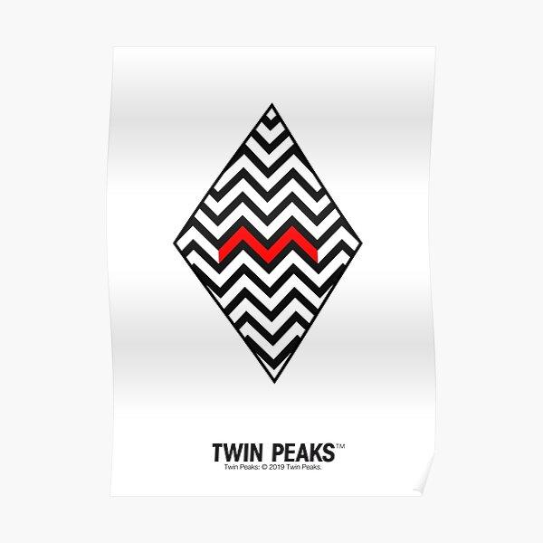 twin peaks. minimal. Poster