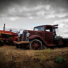 40s International Flatbed by Larry Costales