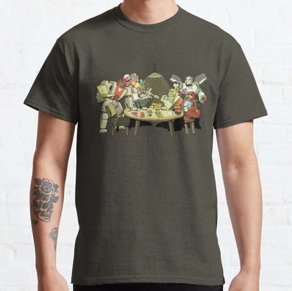 Transformers doing a card game Classic T-Shirt