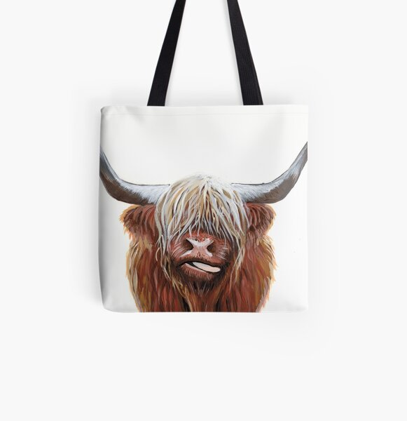 Henry All Over Print Tote Bag