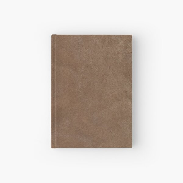 Brown Leather Hardcover Journal