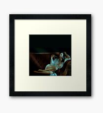 Black Diamond Framed Print
