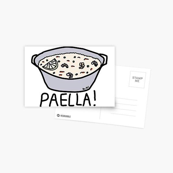 PAELLA! Postcard