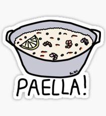 PAELLA! Glossy Sticker