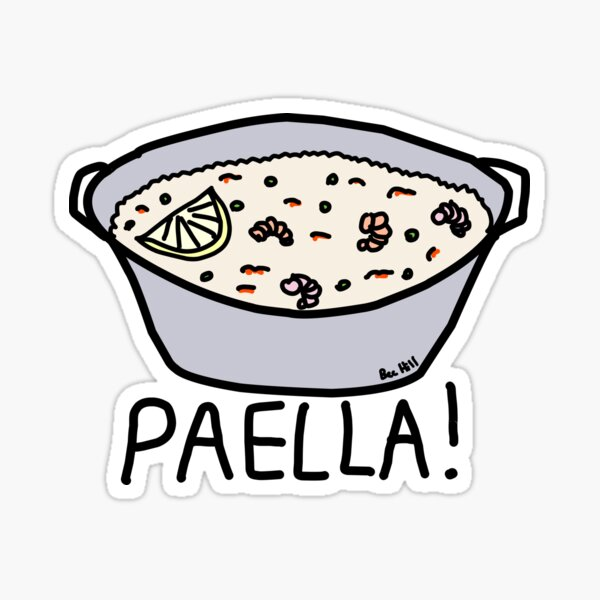 PAELLA! Sticker