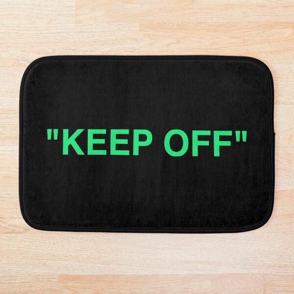 """""""KEEP OFF"""" LOGO - MINT Bath Mat"""