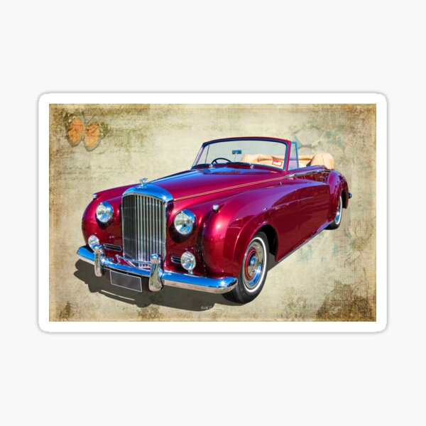Bentley Convertible Sticker