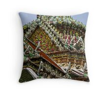 Temple Detail Throw Pillow