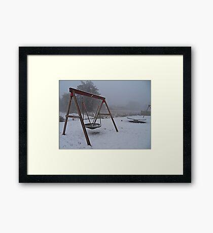 the coldest winter #1 Framed Print