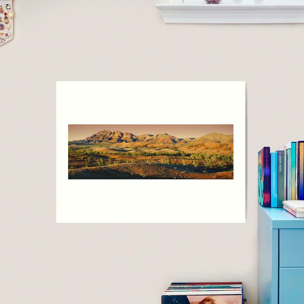 Elder Range, Flinders Ranges, South Australia Art Print