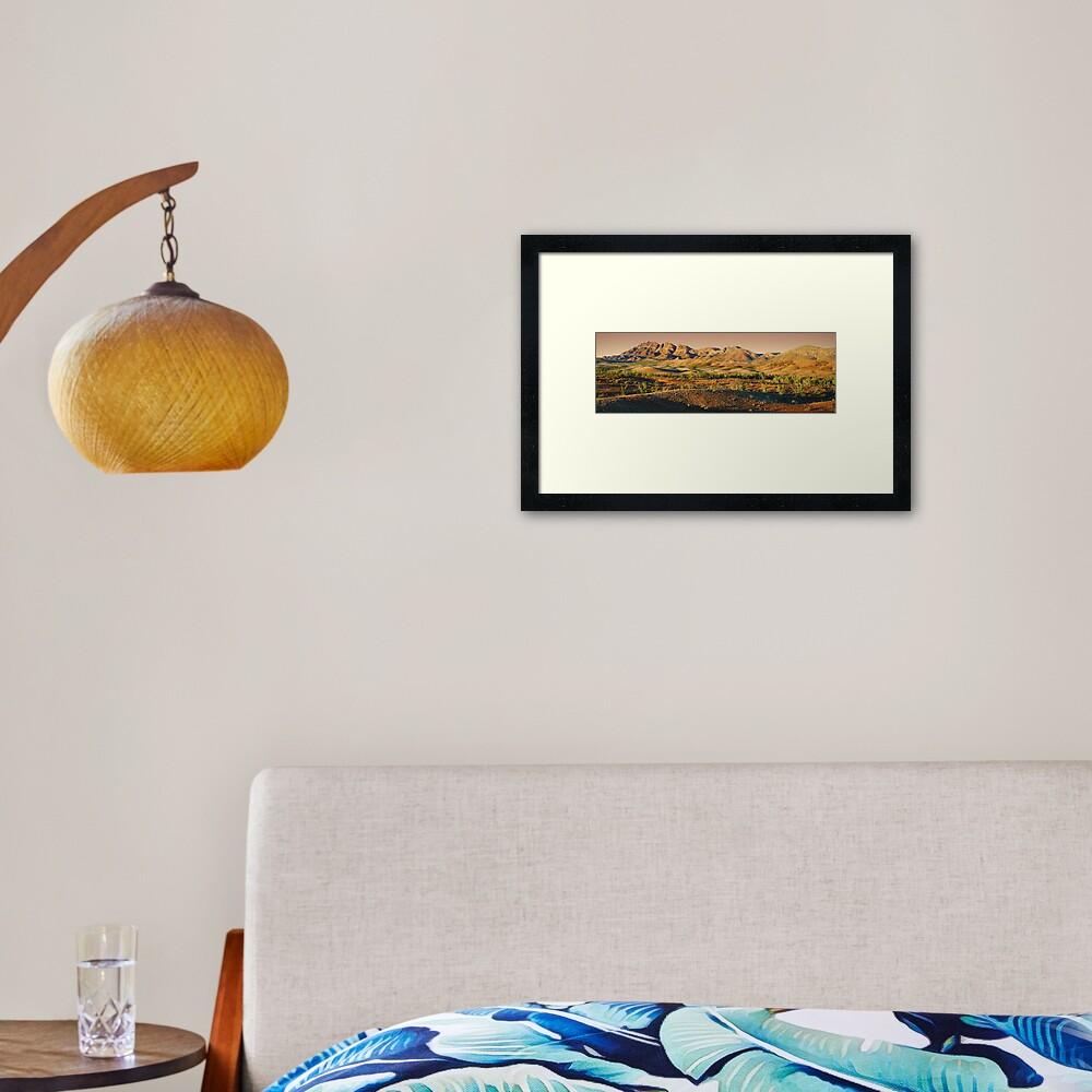 Elder Range, Flinders Ranges, South Australia Framed Art Print