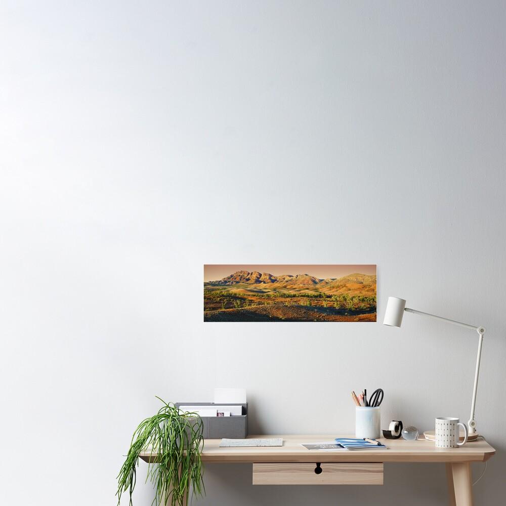 Elder Range, Flinders Ranges, South Australia Poster