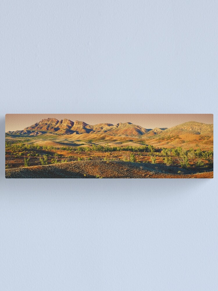 Alternate view of Elder Range, Flinders Ranges, South Australia Canvas Print