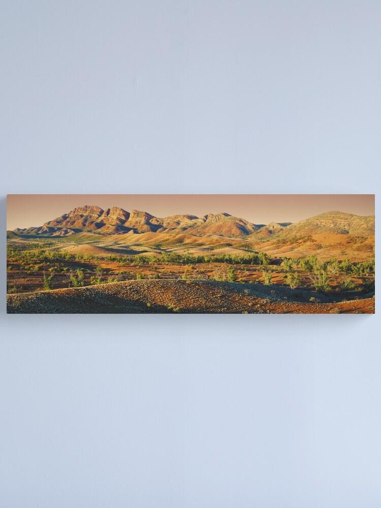 Alternate view of Elder Range, Flinders Ranges, South Australia Canvas Print