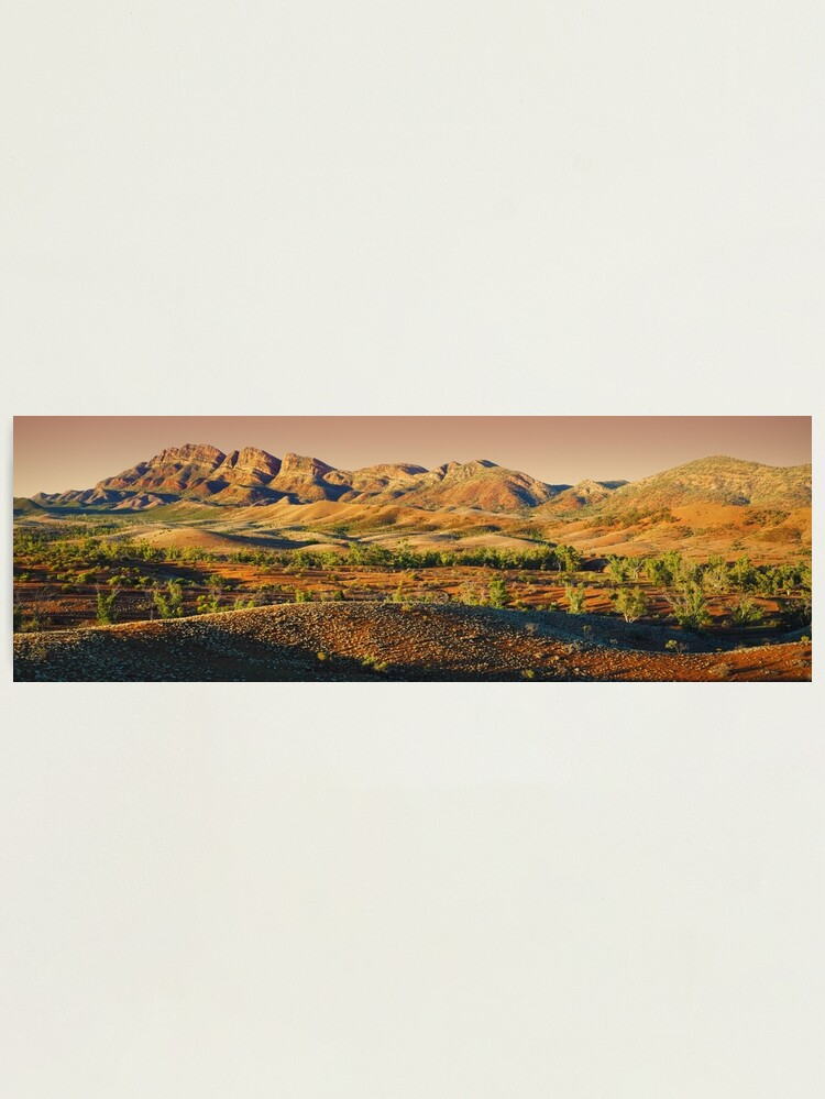 Alternate view of Elder Range, Flinders Ranges, South Australia Photographic Print