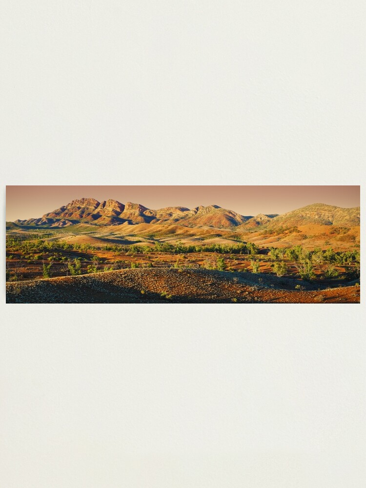 Alternate view of Elder Range, Flinders Ranges, South Australia Photographic Print