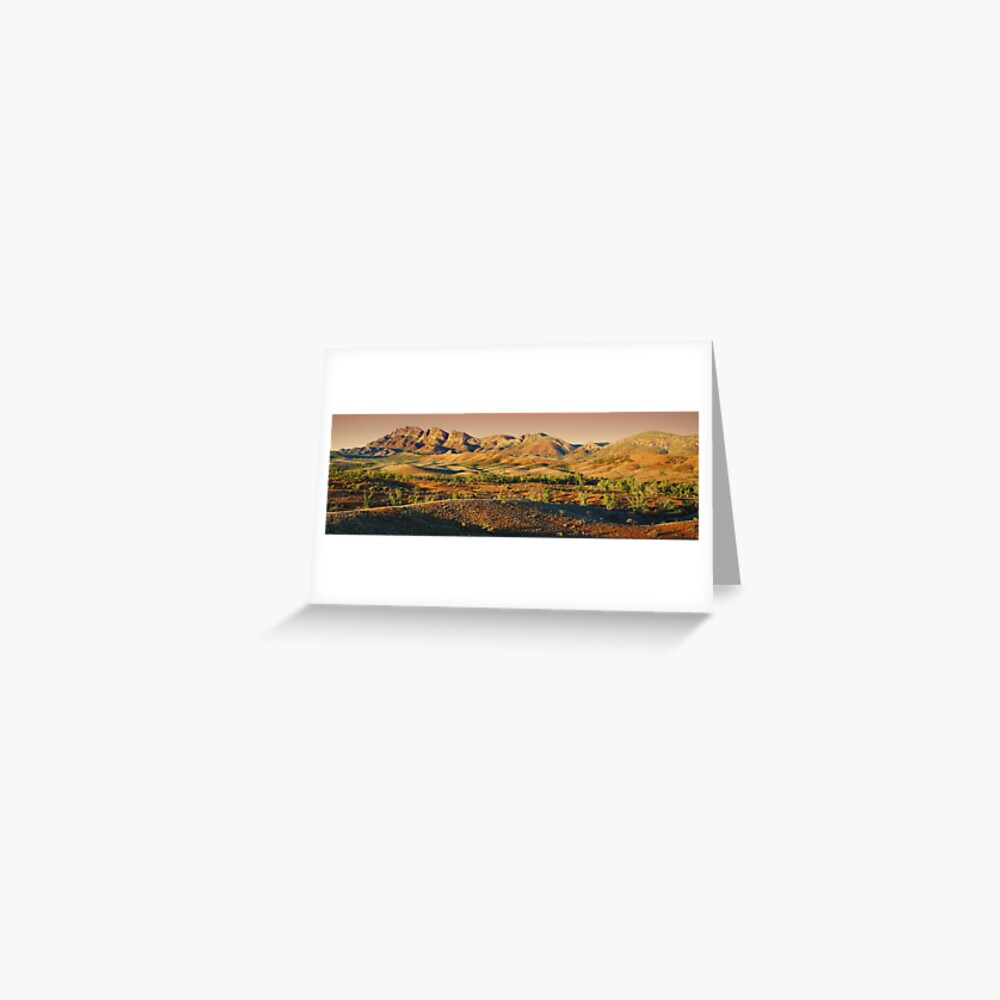 Elder Range, Flinders Ranges, South Australia Greeting Card