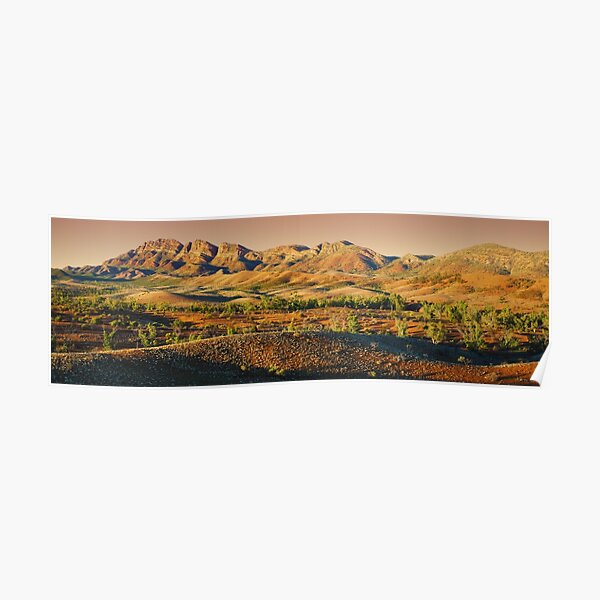 Elder Range, Flinders Ranges, South Australia Poster