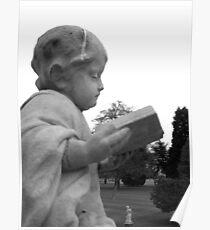 Statue at Wrest Park, Bedfordshire Poster