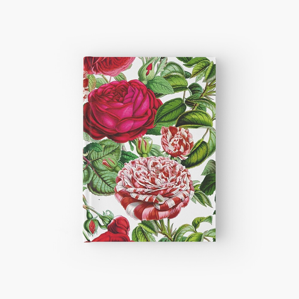 Summer Roses Hardcover Journal